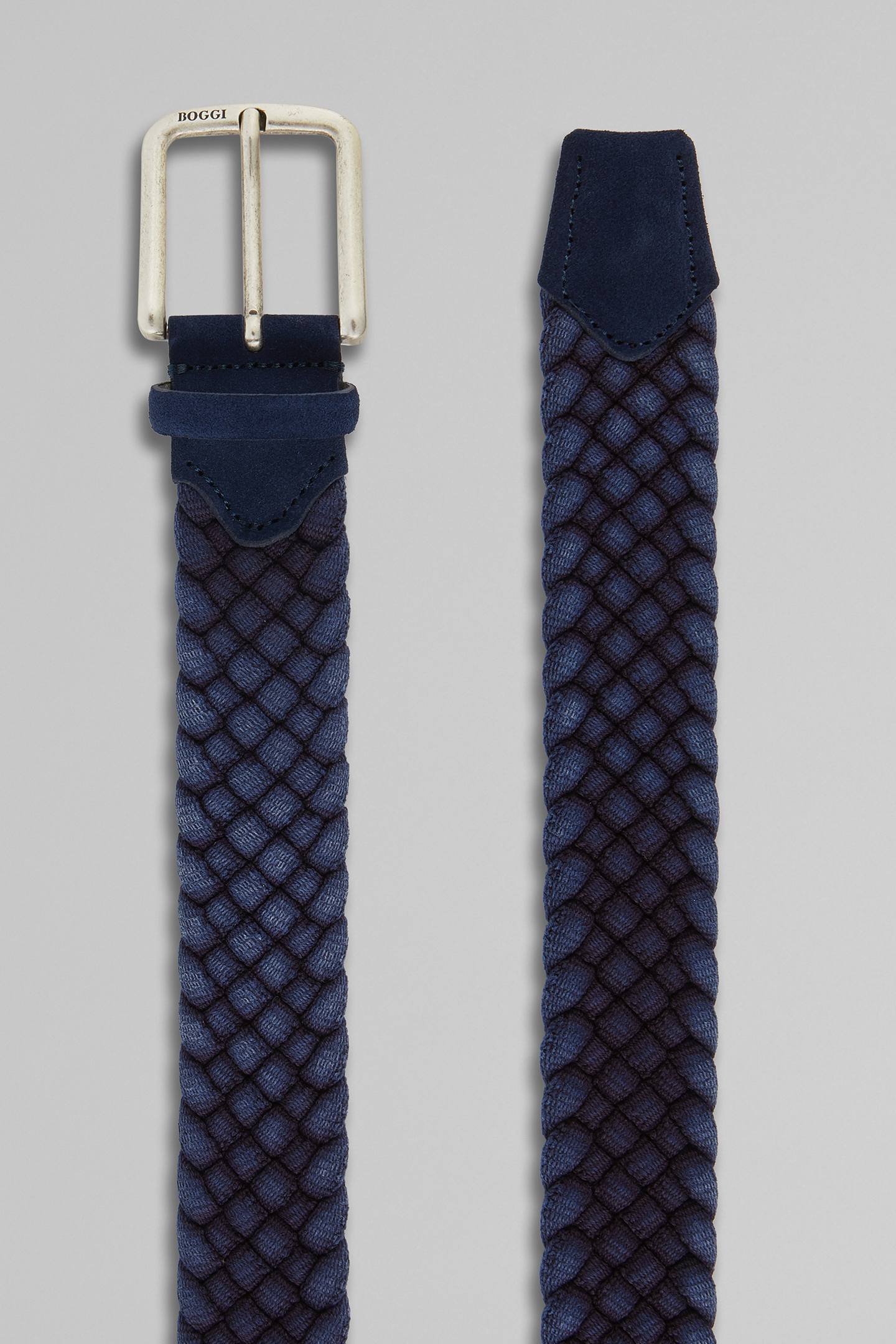 Cinturón Boggi Trenzado De Algodón