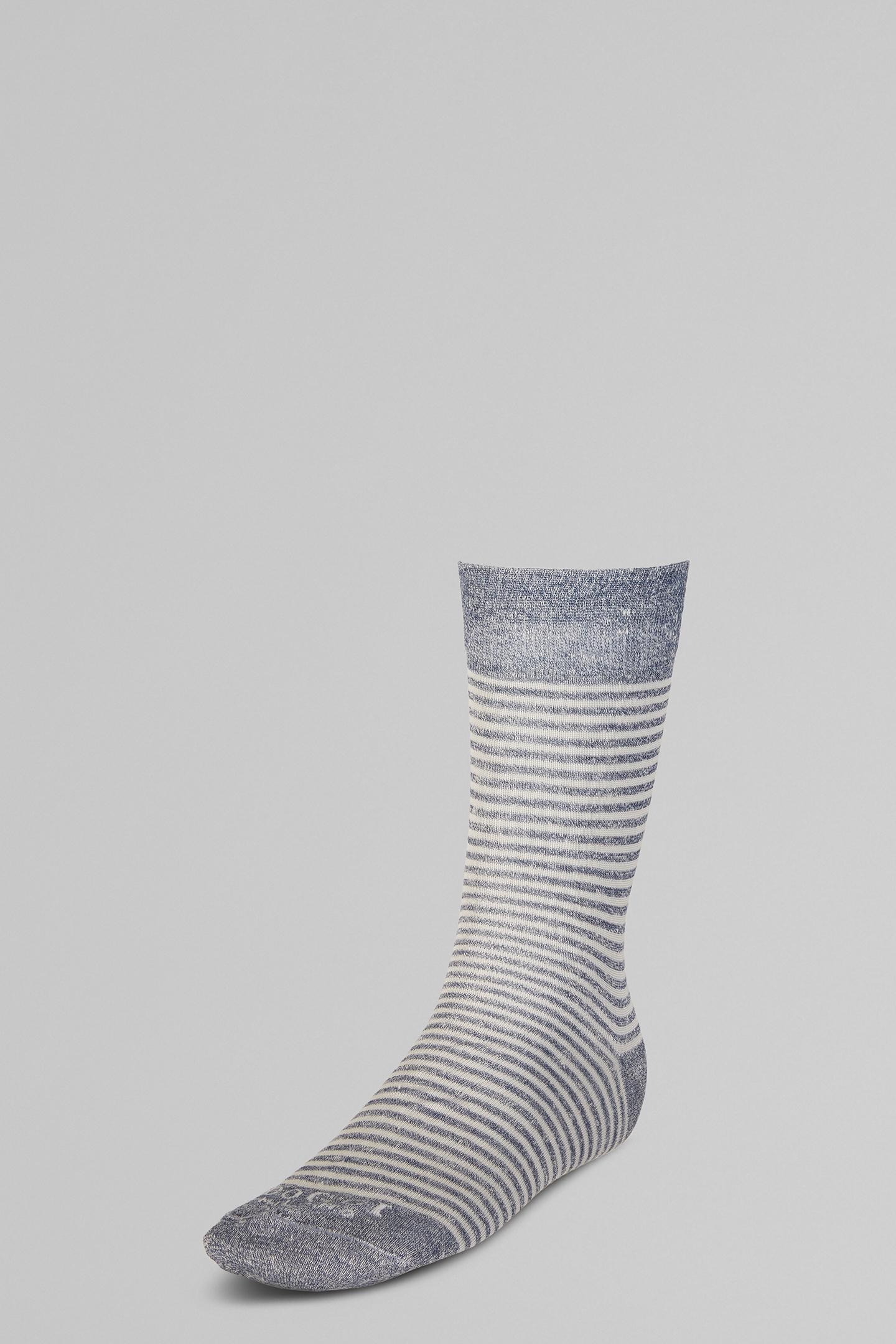 Calcetines Cortos De Lino Elástico
