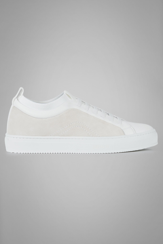 Sneakers De Ante Y Punto