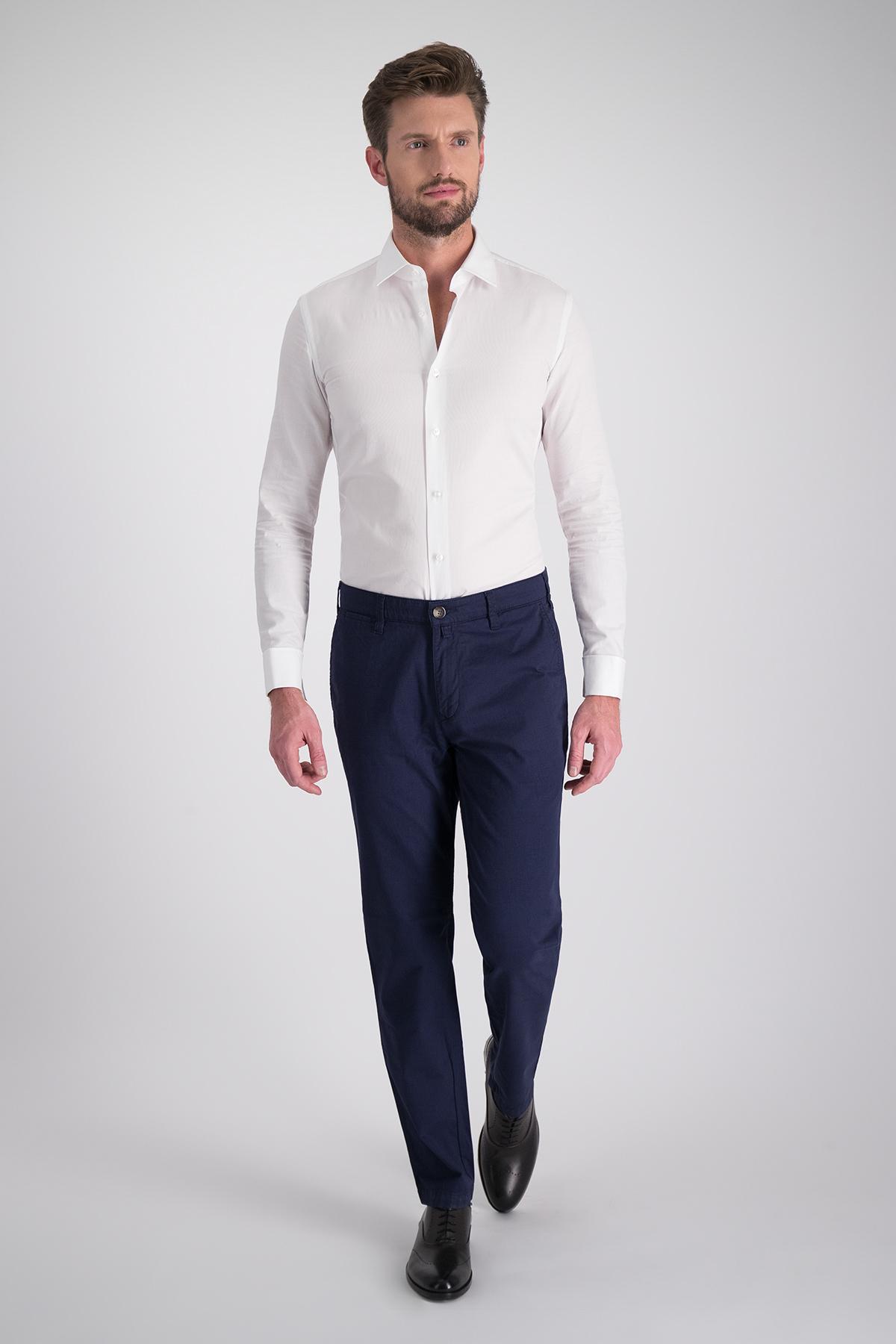 Pantalon Sport Calderoni tipo chino azul medio