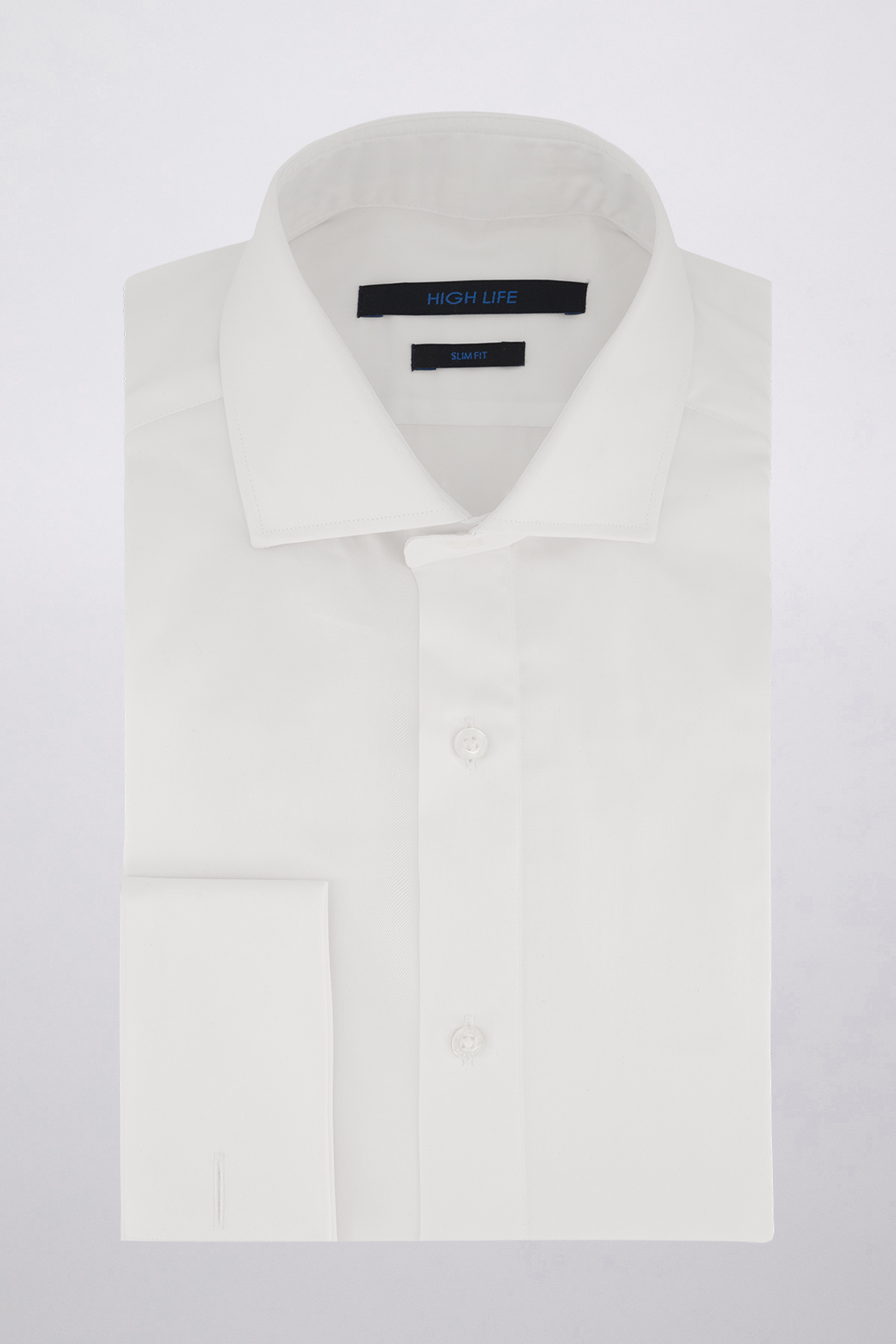 Camisa Vestir marca HIGH LIFE color Blanco