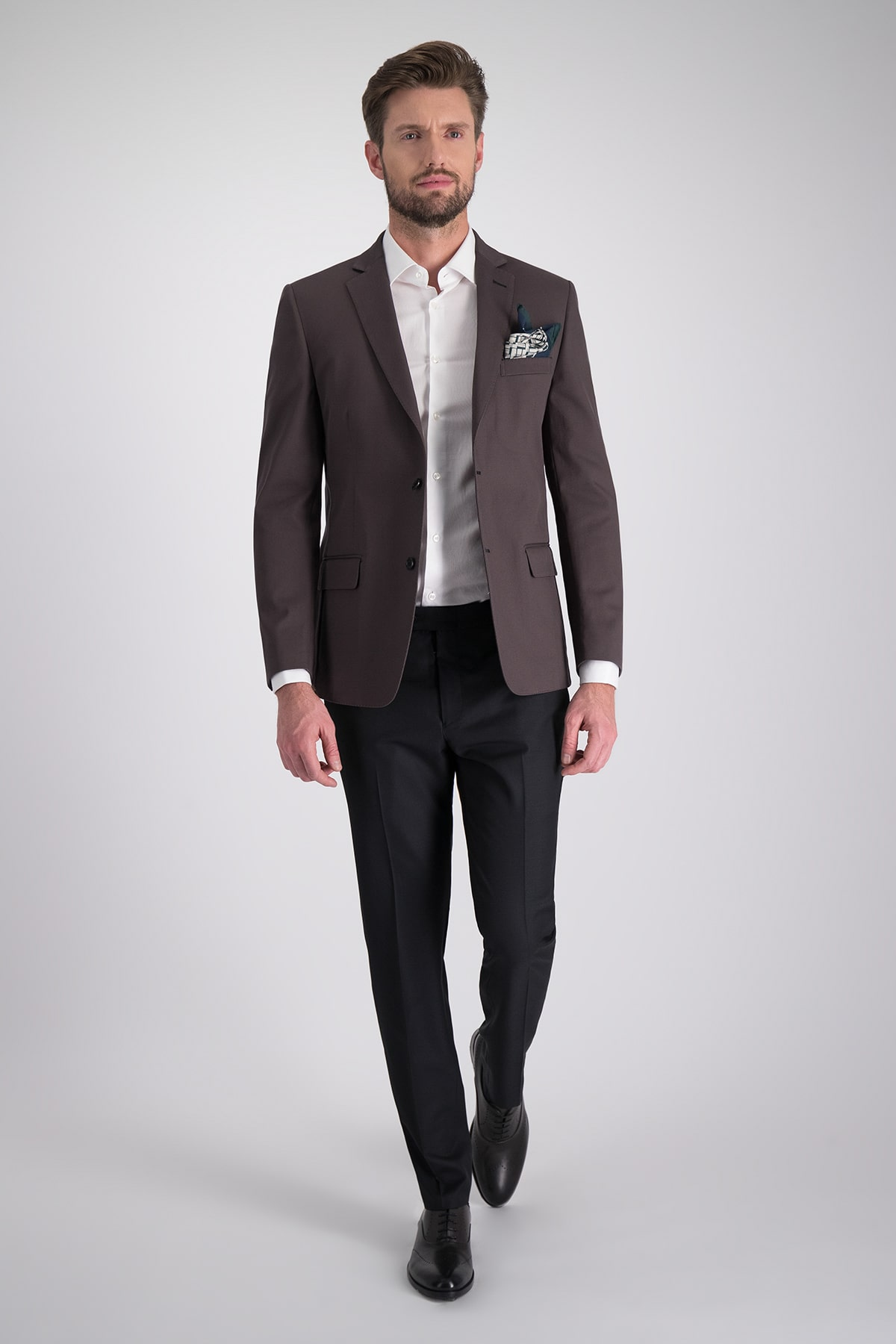 Saco Sport marca HIGH LIFE con tejido tipo gabardina en algodón