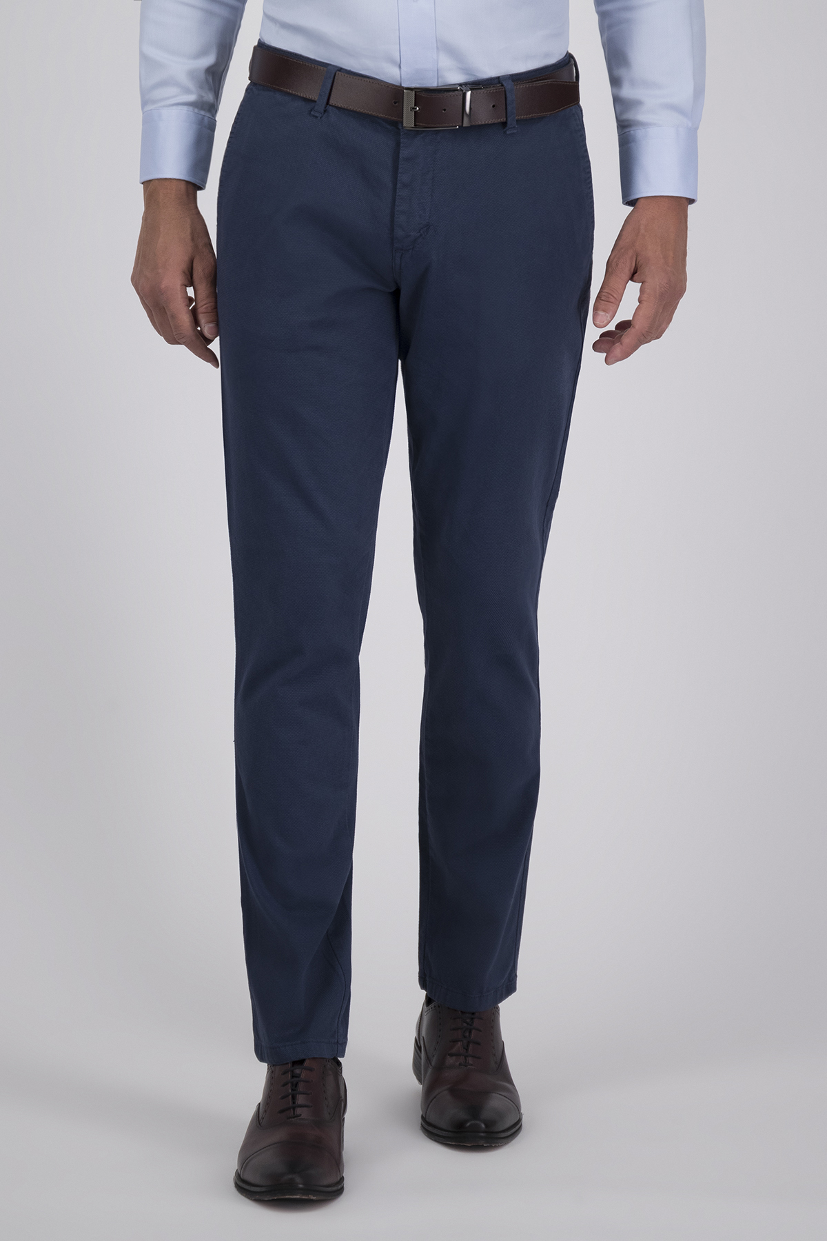 Pantalón Sport High Life, Algodón 100%  Azul, Corte Slim, Tipo Chino, Made in Italy.