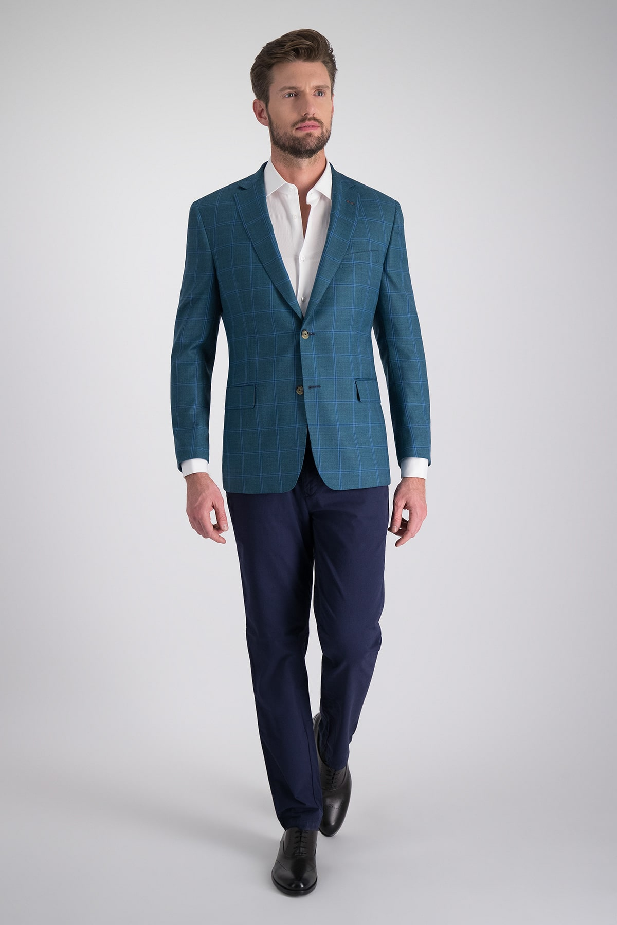 Saco Sport Marca Calderoni Couture con tejido Loro Piana
