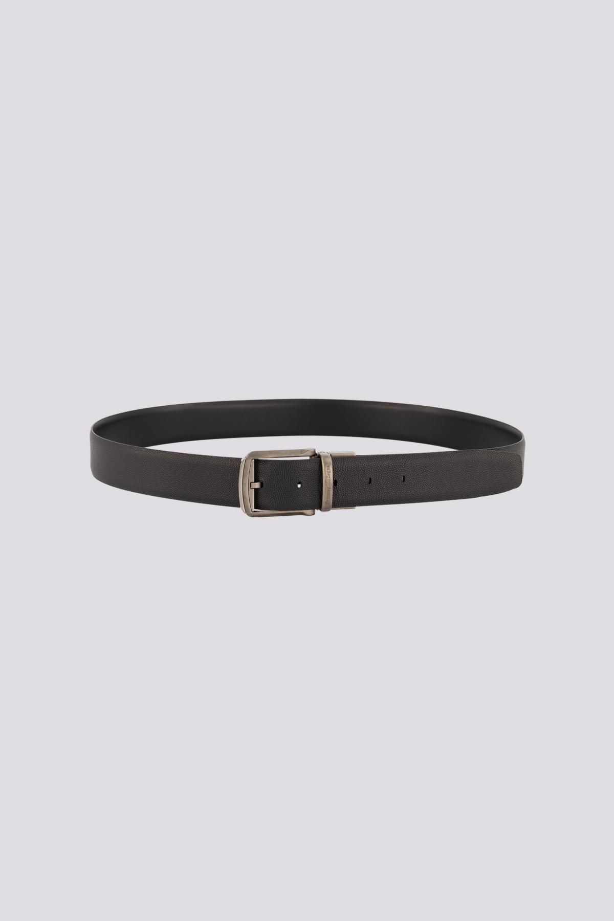 Cinturón en piel marca Zegna reversible