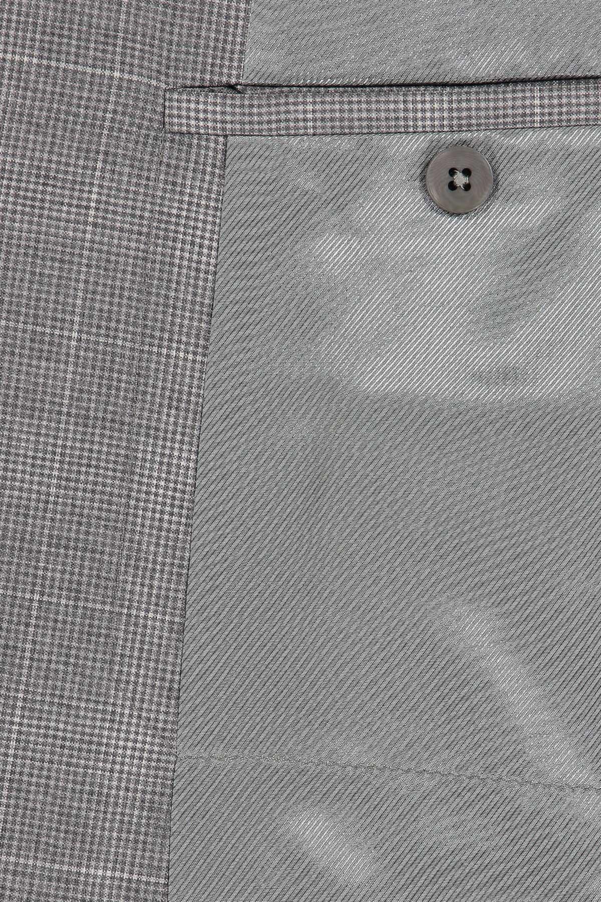 TRAJE marca Z ZEGNA 2 PIEZAS corte SLIM color gris a cuadros