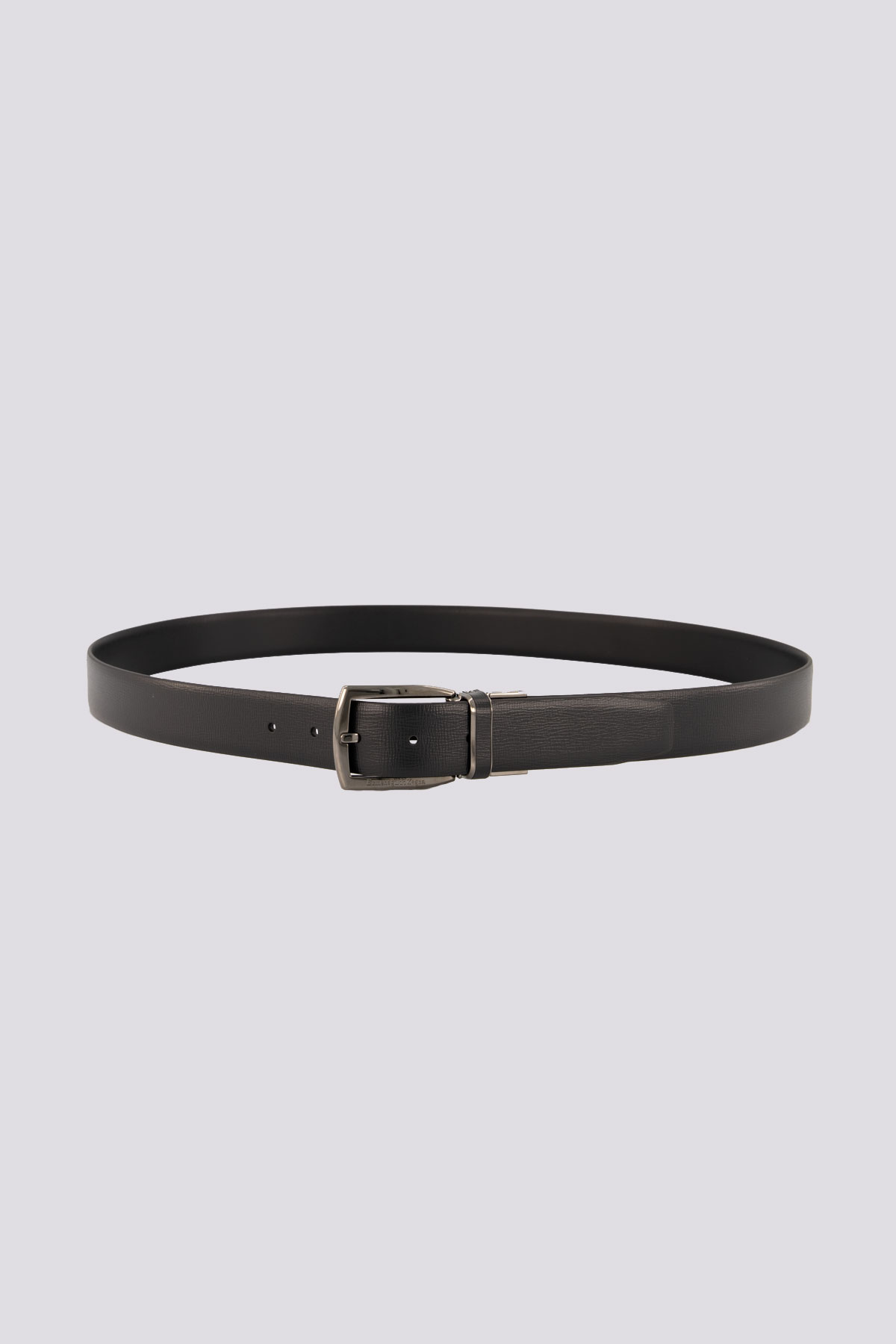 Cinturón marca ZZegna color negro reversible unitalla