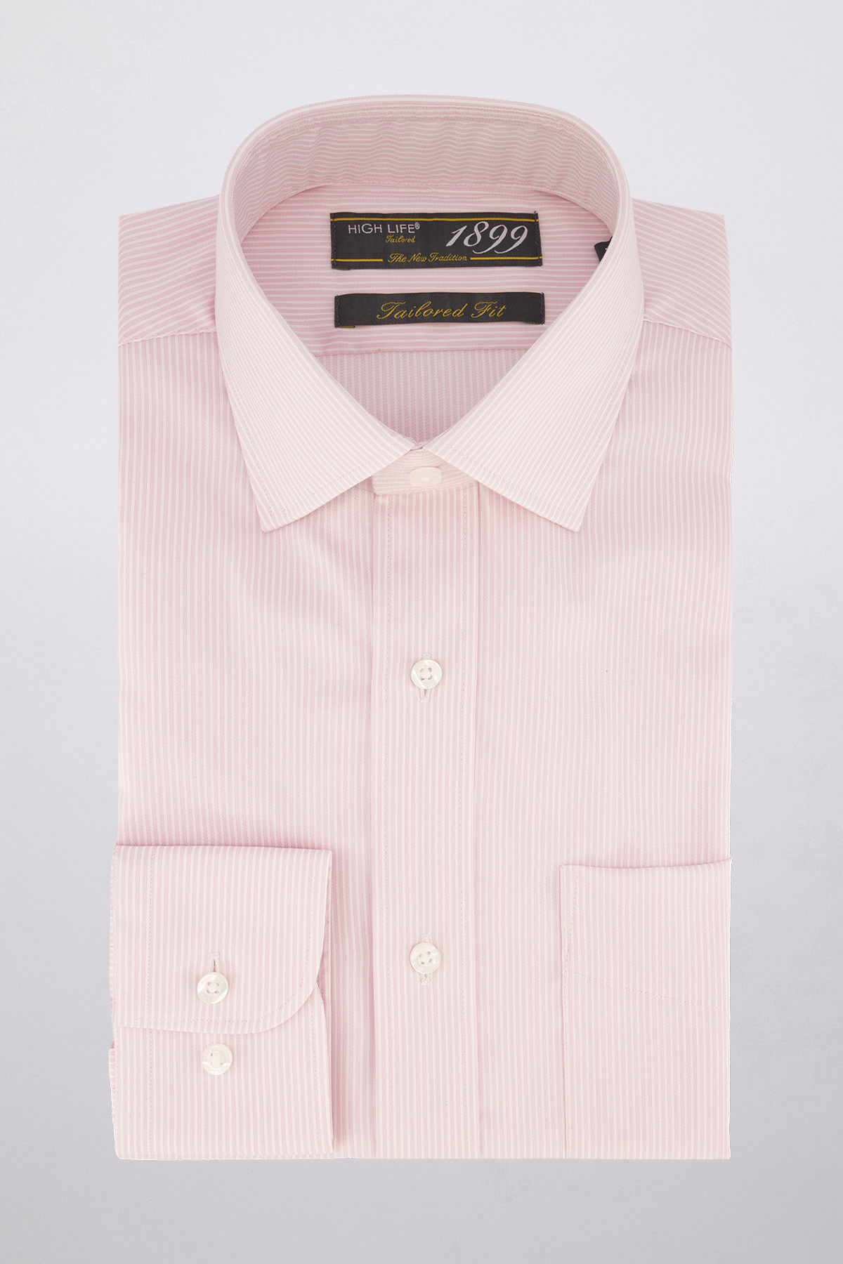 Camisa Vestir marca HIGH LIFE color Rosa