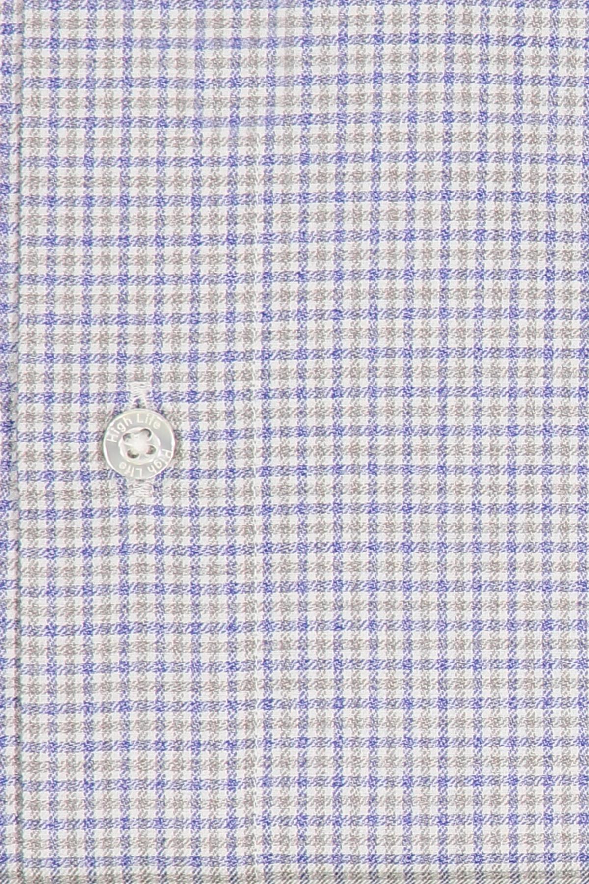 Camisa Vestir marca HIGH LIFE color Gris