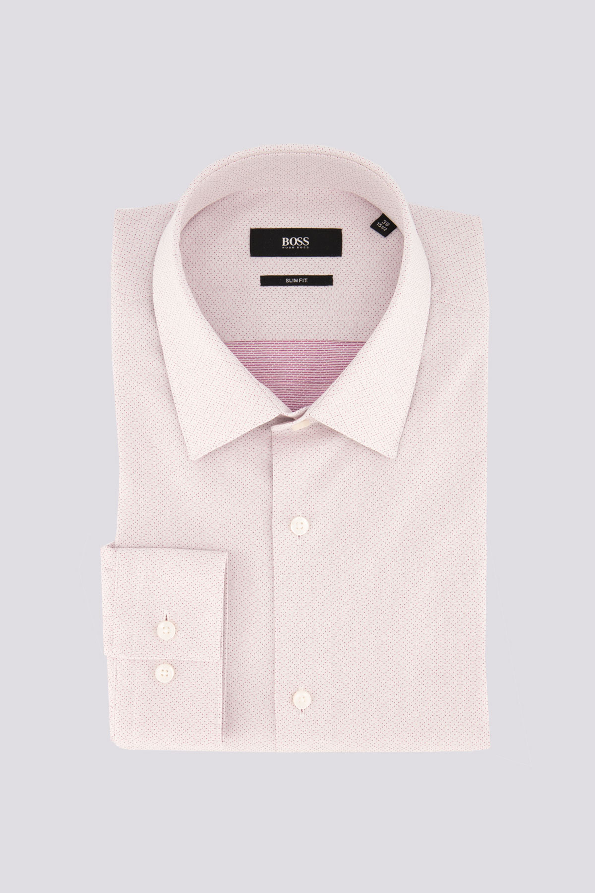 Camisa Vestir con estructura Rosa Marca BOSS slim fit