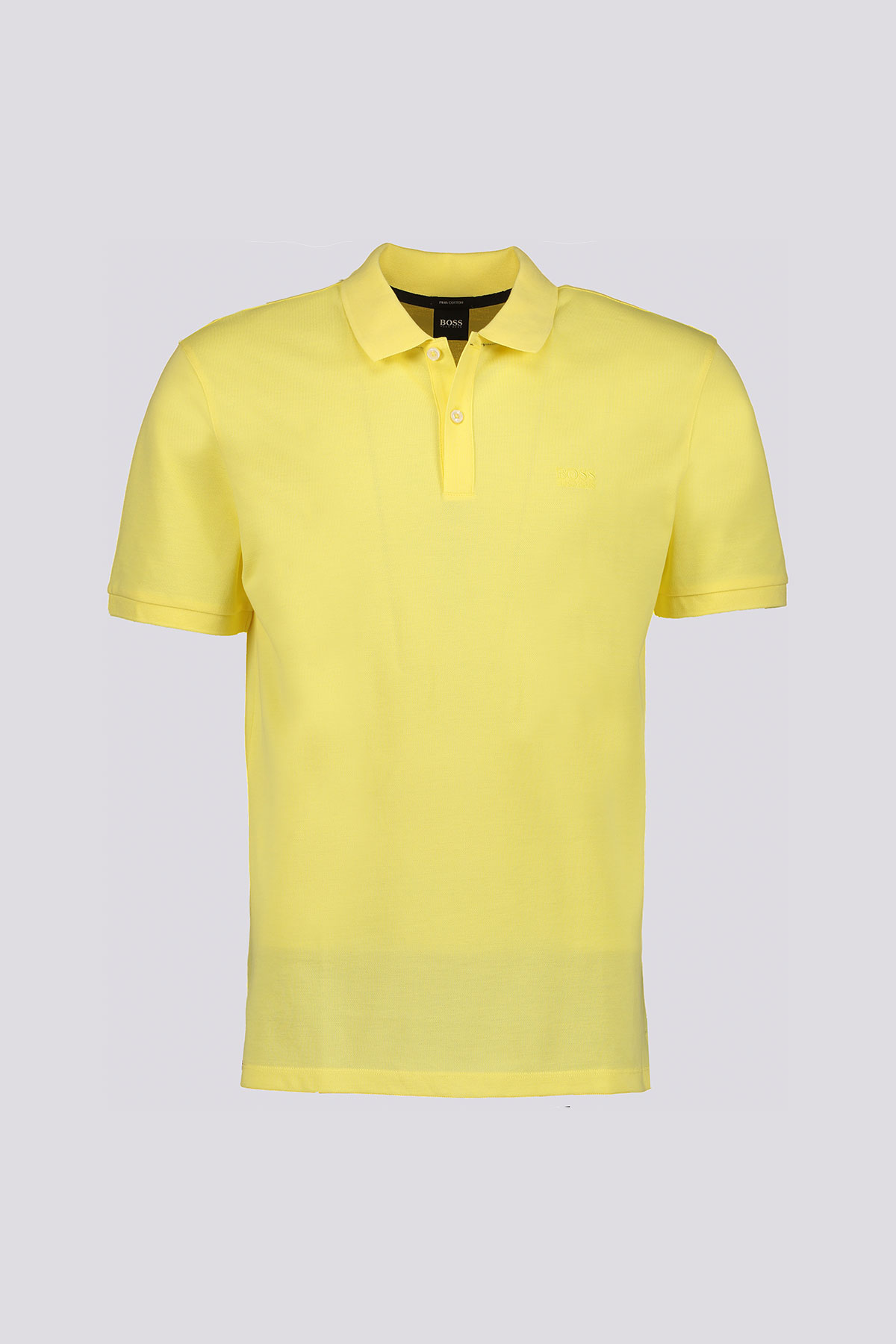 Playera Polo marca BOSS regular fit en piqué de algodón Pima