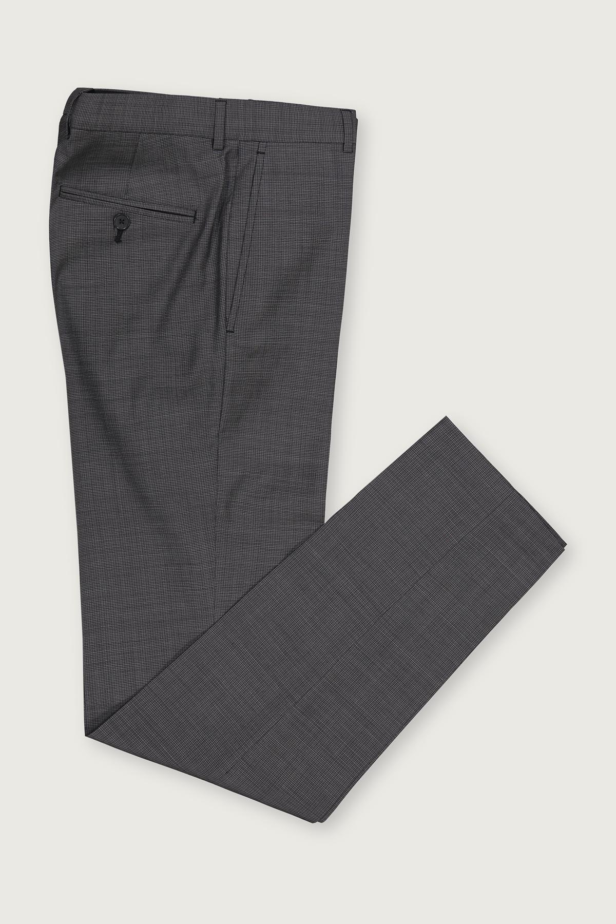 Pantalon Vestir High Life Con Tejido 100 Lana Gris Corte Slim Para Caballero Pantalon Para Hombres Men S Fashion