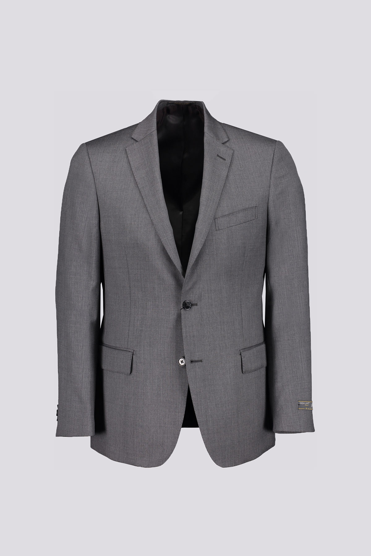 TRAJE MARCA HIGH LIFE GRIS CORTE REGULAR
