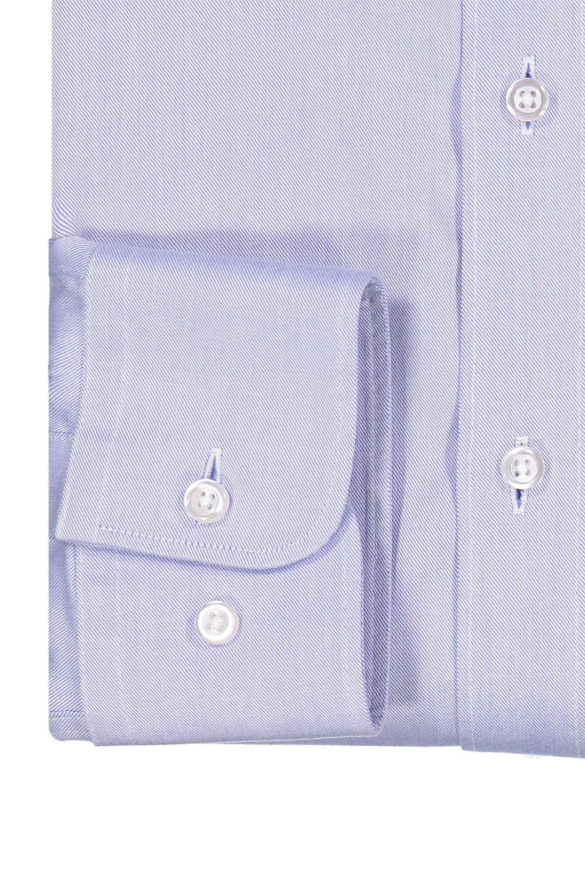 Camisa Calderoni -Non Iron 24/7- twill celeste liso.